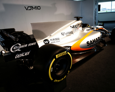 Force India celebrates 10 years of F1 with new VJM10