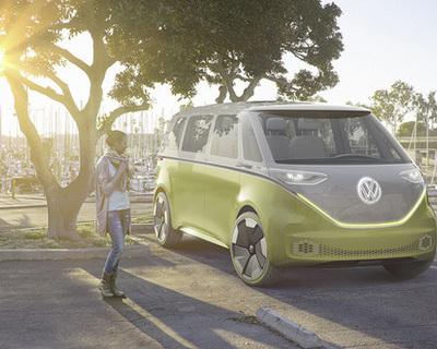 VW reveals new inspired-Microbus concept