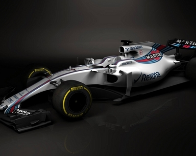 Williams is the first to unveil design for F1 2017