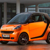 fortwo coupé Night Orange