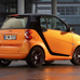 fortwo cabrio Night Orange