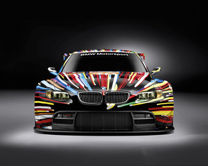 M3 GT2 Art Car Jeff Koons