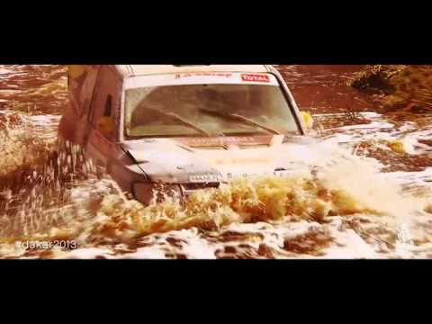 A trailer for the 2013 Dakar Rally