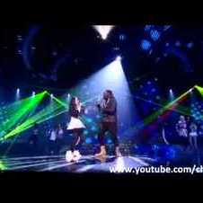 Cher Lloyd sings Where Is The Love / I Gotta Feeling duet with will.i.am X Factor Final 2010 HQ/HD