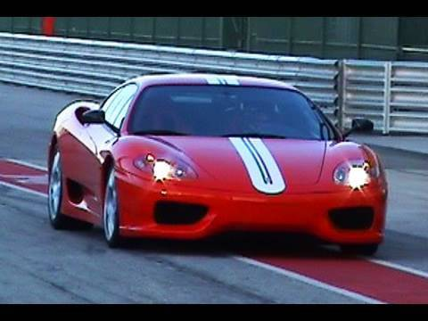 Ferrari 360 Challenge Stradale Incredible Sound!! Accelerations and Fly Bys