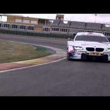 DTM 2012 - BMW M3 DTM race cars on track