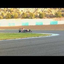 F1 - The Red Bull RB7 in slow motion - Jerez tests