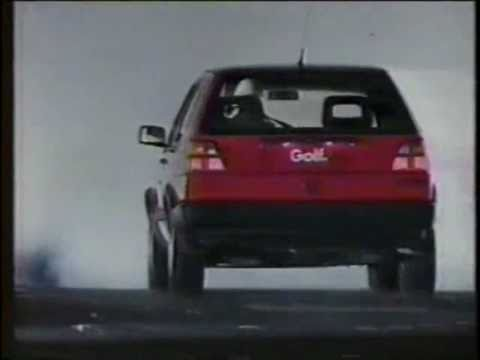 1990 volkswagen golf gti commercial