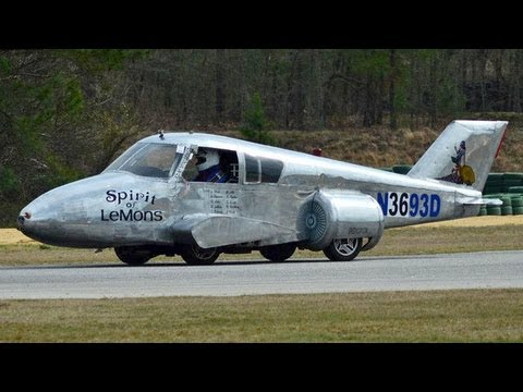 The Plane That Thinks It's a Car