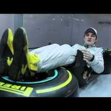 Nico Rosberg explains his driving position