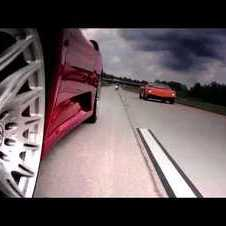 Underground Racing F430TT vs LP570 Superleggera