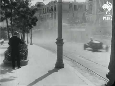 Film of the First Ever Monaco Grand Prix