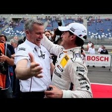 BMW Motorsport. 1st at DTM 2012 Lausitzring.
