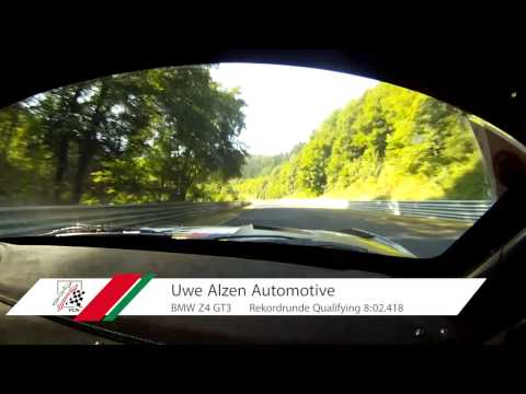 Uwe Alzen Sets New Nürburgring Combined Circuit Record