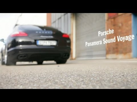 The Music of the Porsche Panamera