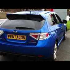 SUBARU IMPREZA 2.5 WRX STI TYPE UK 5DR - BLUE