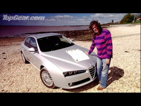 Alfa Romeo 159: James May tries not to swear - Top Gear - BBC