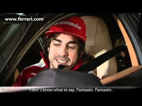 Ferrari F12 berlinetta development footage - special test drivers