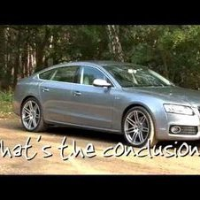 Fifth Gear Web TV - Audi S5 Sportback