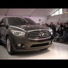 Infiniti JX Concept Reveal at the 2011 Pebble Beach Concours d'Elegance