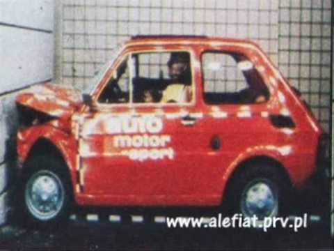Fiat 126p Crash TEST  oficial