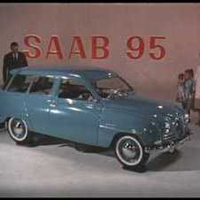 Saab TV Ad from 1961