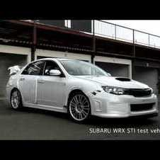 2011 Subaru WRX STI Sedan Attacks the 'Ring