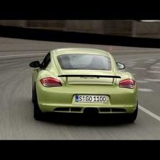 The new Cayman R in Motion