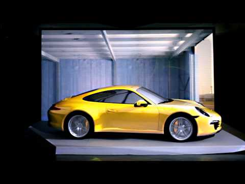 Motionless Driving: Porsche drives while stationary
