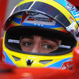 Alonso quickest in wet practice as Vettel crashes
