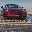 Aston Martin Continues Centenary Celebration with Helicopter Delivery in Dubai