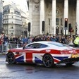 Aston Martin Brings Union Jack Vanquish to Lord Mayor's Show