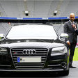 Audi Gives S8 to New Bayern-München Coach