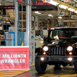 Chrysler's Toledo Factoy Builds Millionth JK Chassis Jeep Wrangler