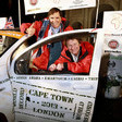 Fiat Completes Journey from Cape Town to London in Record Time