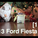 Ford Recreates Gymkhana with Hot Wheels and Holiday Theme