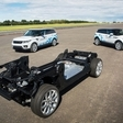 Jaguar Land Rover shows new electric technology