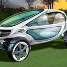 Mercedes Builds Vision Golf Cart to the Needs of Golfers