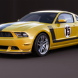 One off Ford Mustang created