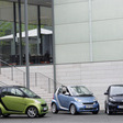 smart fortwo comes out of the box