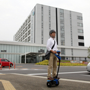 Toyota Testing Two-Wheel Electric Mobility Robot in Japan