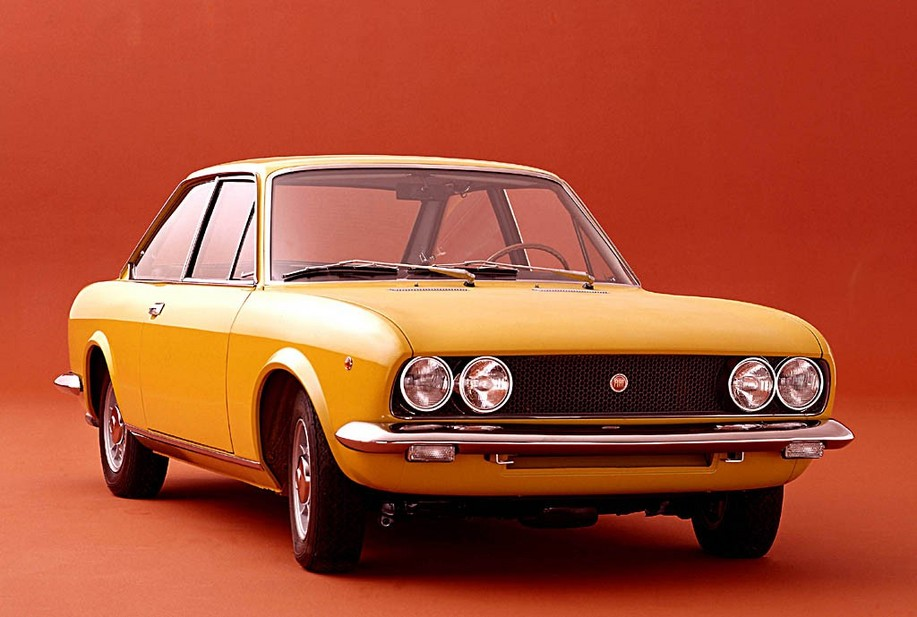 Fiat 124 Coupé 1600 5-speed