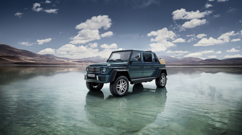 Mercedes-Maybach G650 Laundalet will have a limited production of 99 units