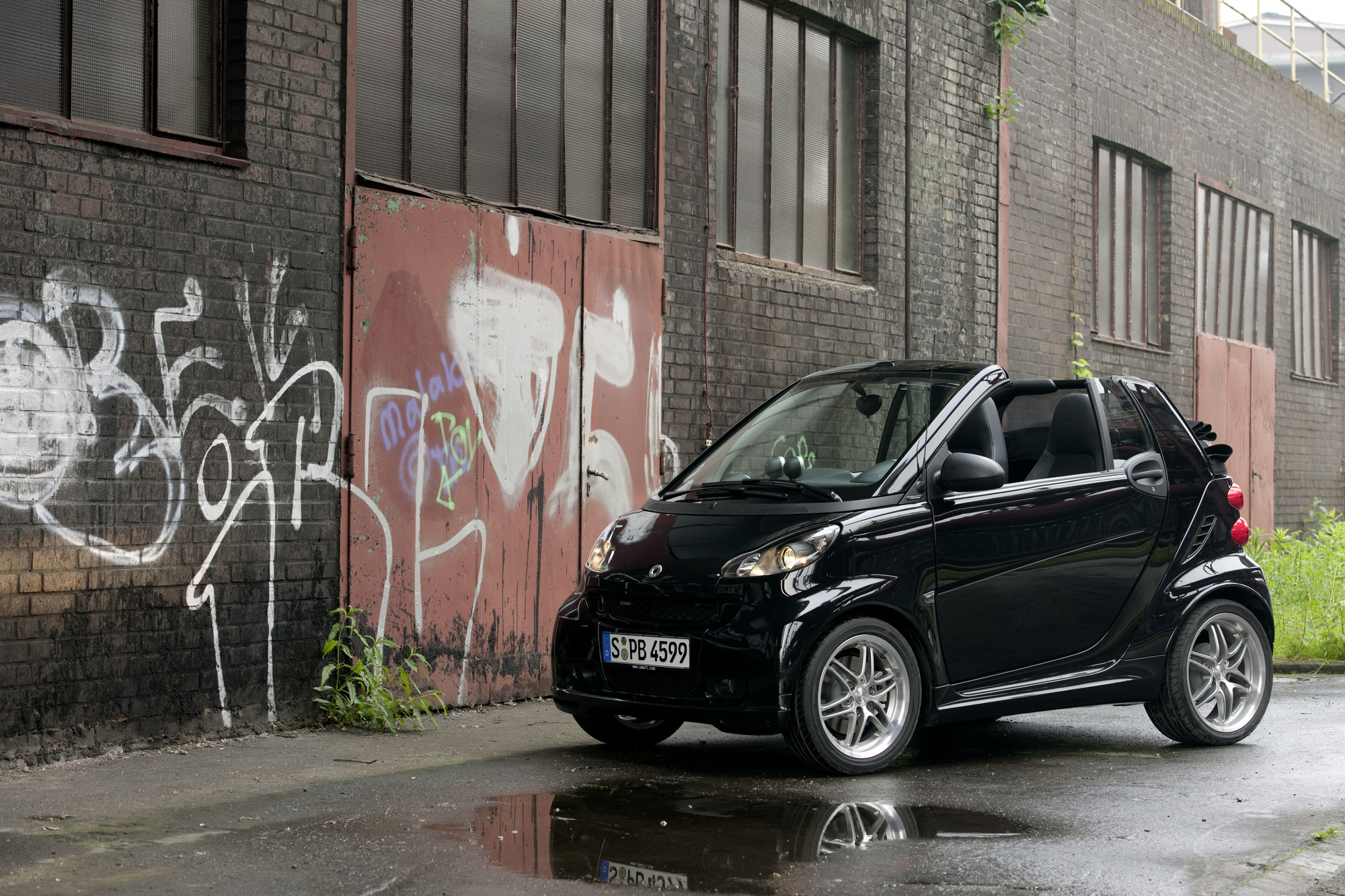 smart fortwo cabrio 1.0 turbo Brabus Xclusive