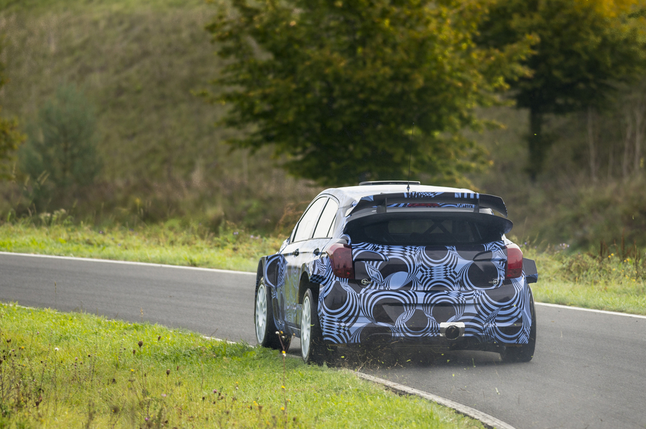 The first official tests of the new i20 WRC started last month
