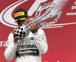 Hamilton won his fourth race of the season