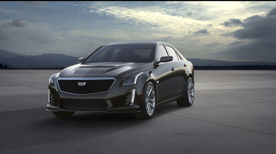 The power of the CTS-V comes from a supercharged V8 engine with 6.2 liters with 640hp and 855Nm of torque