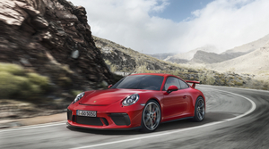 The new 911 GT3 is more powerful than before thanks to a 4.0 direct-injection flat-six engine