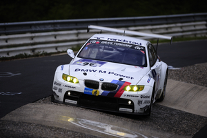 The E92 M3 was the overall winner in the 2011 ALMS championship. It has about 485hp.