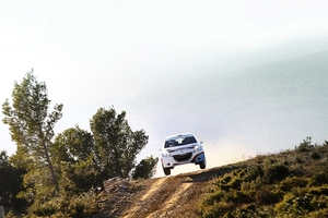 THe most recent test was a gravel rally in the south of France
